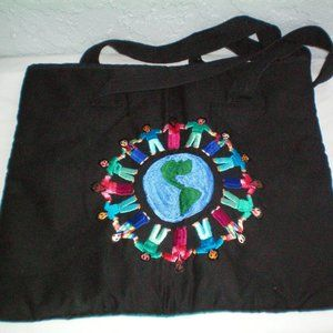 Beautiful Handmade Embroidered Tote Bag